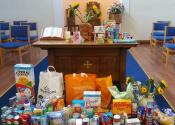 Harvest Collection for the local FoodBank